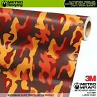 LARGE AUTUMN Camouflage Vinyl Vehicle Car Wrap Camo Film Sheet Roll Adhesive