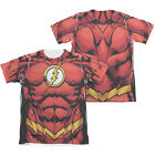 THE FLASH 52 COSTUME Halloween Licensed Adult Men's Graphic Tee Shirt SM-2XL