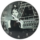 Lovely Famous Characters Modern Glass Clock Design New