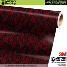 MINI VAMPIRE RED Camouflage Vinyl Vehicle Car Wrap Camo Film Sheet Roll Adhesive