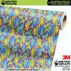 MINI CARNIVAL Camouflage Vinyl Vehicle Car Wrap Camo Film Sheet Roll Adhesive