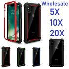 Wholesale For iPhone 7 8 / 7+ 8+ Cross 3in1 Transparent Acrylic Case 5X 10X 20X