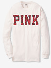 PINK VICTORIA SECRET CAMPUS n LEGGING LONG SLEEVE TEES CREW V NECK NEW W TAGS