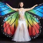 Belly Dance Isis Wings Stage Performance Dance Props Butterfly Wings With Sticks