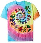 Grateful Dead Spiral Bears Tie Dye T-Shirt All Sizes New image