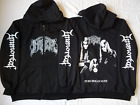 IMMORTAL Pure Holocaust ABBATH TRUE NORWEGIAN BLACK METAL HOODIE ZIPPER SIZE Ltd