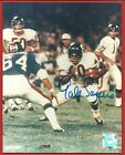 """GALE  SAYERS   HAND  SIGNED  AUTHENTIC  AUTOGRAPHED  8 """" X 10 """"   PHOTO   !!"""