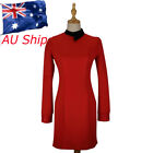 Star Trek Discovery Season 2 Starfleet Commander Female Red Dress Uniform Bagde on eBay
