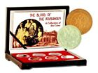 Blood of the Romanovs,A Set of 6 Coins,Certificate,Story& Beautiful Wood Box
