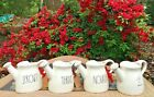 """Rae Dunn Watering Can WATER SPROUT NOURISH GROW """"YOU CHOOSE"""" - NEW"""