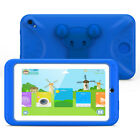 """Quad Core 7""""Tablet 8GB HD Android Dual Cam WiFi BT TF for Kids Bundle Proof Case"""