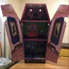 Teamsons Kids Vampire Villa Coffin Wooden Dollhouse Monsterhigh Doll House Rare