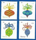 US Holiday Baubles 4579 -82  Set of 4 ATM Stamps Mint Never Hinged 4579 - 4582