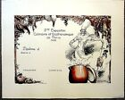 Vintage French Chef's Diploma-Color Lithograph