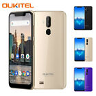 "Oukitel C12 Pro 6.18"" Android 8.1 Unlocked Mobile Smart Phone Quad Core Dual Sim"