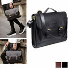 Leather Briefcase Satchel 14