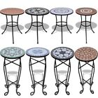 Home Mosaic Side Table Plant Table Weather-resistant Outdoor Durable Furniture