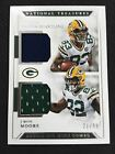2018 Panini National Treasure Marquez Valdes-Scantling J'Mon Moore Dual Jersey