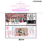 BTS Love Yourself: SPEAK YOURSELF Memorabilia Tickets