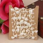 5M Fishing Line Heart Pearl String Beads Garland Wedding Flower Decor Applique