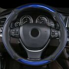 Dermay® Car Steering Wheel Cover New Cover Leathe Personality With Edge Size M