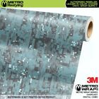 DIGITAL OVERCAST Camouflage Vinyl Vehicle Car Wrap Camo Film Sheet Roll Adhesive