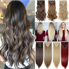 on clearance clip in 100 real natural as human hair extensions 8 pcs long wavy