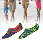 New Outdoor Beach Water Shoes Non-slip Snorkeling Shoes For Unisex Green Orange