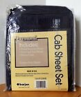 """2 Sets of Personal Essentials Cab Sheet Set 49""""/53"""" x 80"""" Blue New Over The Road"""