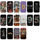 FRIENDS Central Perk Collage Ross Phoebe Phone Cover Faux Leather Flip Case