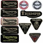 Triumph motorbike motorcycle biker embroidered iron on patches sew on badges £1.99 GBP on eBay