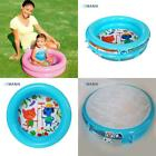 Cute Plastic Inflatable Round Separate Inflation Baby Small Swimming Pool High