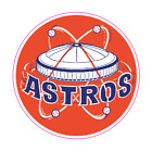 Houston Astros Vintage Logo 1965-1976 Sticker Vinyl Vehicle Laptop Decal on Ebay