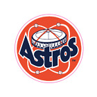 Houston Astros Vintage Logo 1977-1993 Sticker Vinyl Vehicle Laptop Decal on Ebay