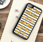Phone Case Dachshund Sausage Dog Foil Effect Back Protective Cover For Iphone