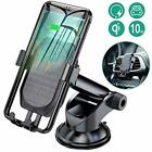 Wireless Car Charger Mount With Air Vent,Wireless Fast 10W Qi For IPhone S9/S9+,