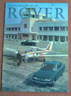 Colour Magazine of the Rover 2000 and 3-litre Saloon & Coupe c1963