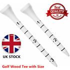 Golf Tees Mixed Wooden 70mm 83mm with Sizes Length Wood Tee 20 50 100 Pack Set