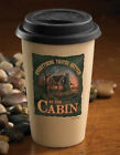 Everything Better At Cabin 350ml Travel Cup by Terry Redlin. Wild Wings