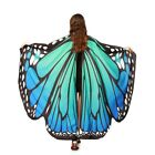 Adult Women Girls Colorful Butterfly Wings Fairy Pixie Shawl Dress Cape Costume