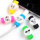 3x Wire Protector Saver Cover For Smart Phone 6s 7plus USB Charger Cable Cord BR