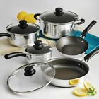 Nonstick Tramontina 18-Piece 9-PC Pots And Pans Cookware Set Cooking Kitchen