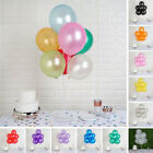 "50 pcs x 12"" Metallic Latex Balloons Wedding Party Decorations Supplies Sale"