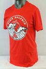 PINK DOLPHIN S/S WAVE LEAP T-SHIRT RED ZZ1811WLRE