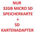 32GB MICROSD SPEICHERKARTE SD KARTENADAPTER CARD READER UNIVERSAL HANDY TABLET
