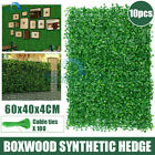 Artificial Boxwood Hedge Fake Vertical Best Garden Greener Wall Ivy Fence Mat-au