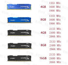 16GB 8GB 4GB DDR3 DDR4 1333 1600 1866 2133 2400 2666Mhz RAM For HyperX FURY Lot