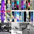"47"" Youth Fashion Skateboard Longboard Grip Tape Sticker Diamond Sheet Griptape image"