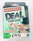 New MONOPOLY Deal Card Game by Hasbro - Fast Dealing Family Monopoy Card Game