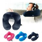 Kyпить USA Inflatable Flight Pillow Neck U Travel Hiking Rest Head Support Air Cushion на еВаy.соm